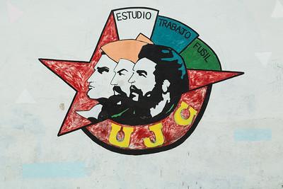 Motto Mural of Communist League