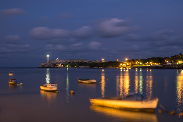 Havana Harbor at Twilight.