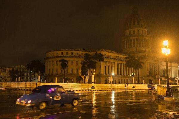 Pouring Down Rain, Havana.