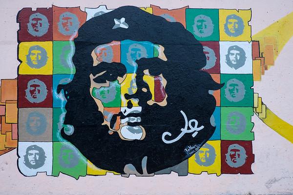 Che Guevera Mural