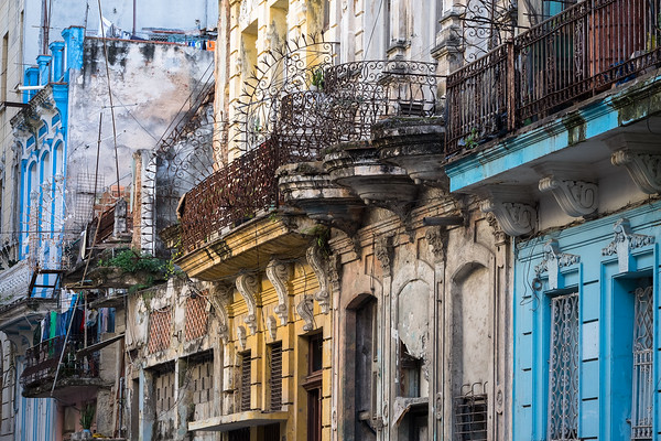 Balconies and Grilles, Havana.