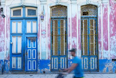 Man in Blue, Havana