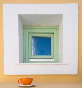 Orange Cappucino Cup