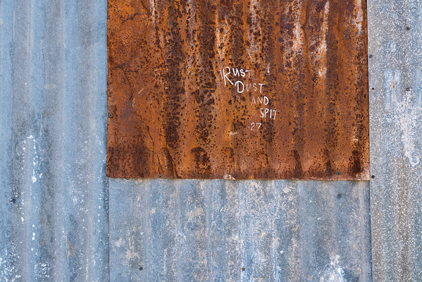 Rust Dust and Spit