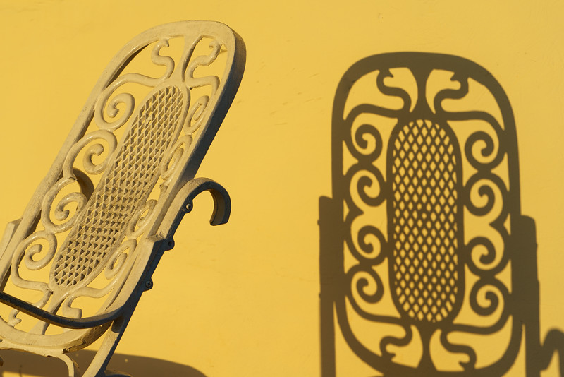 Yellow Chair and Shadow