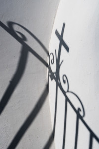 Shadow of a Cross, Greece.