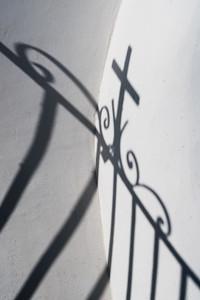 Shadow of a Cross, Greece.