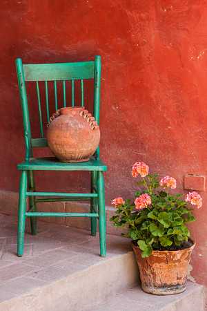 Picturesque Porch, Mexico.