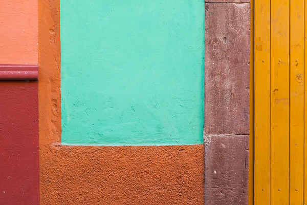 Colorful Wall Geometry.