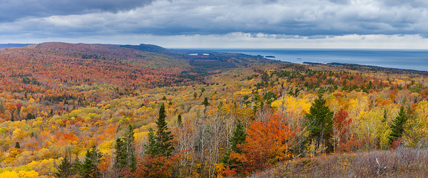 Autumn Vista Panorama