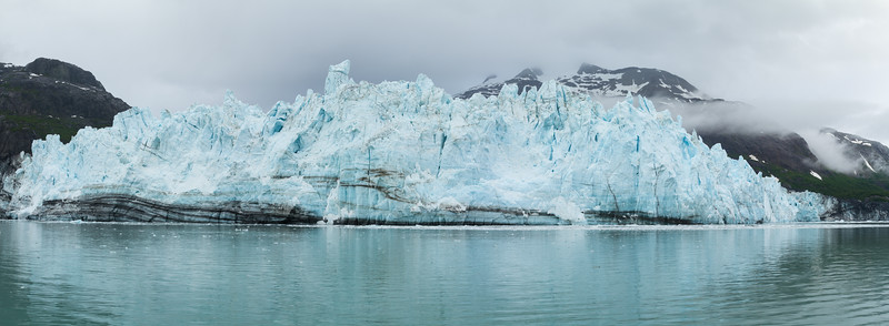 Margerie Glacier in Wide View