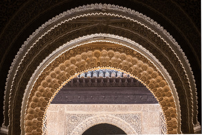 Alhambra Arches.