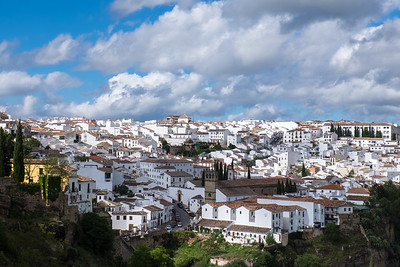 View of Ronda in Andalusia.