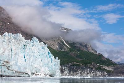 Margerie Glacier Landscape