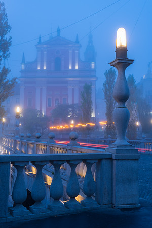 Blue Hour Fog