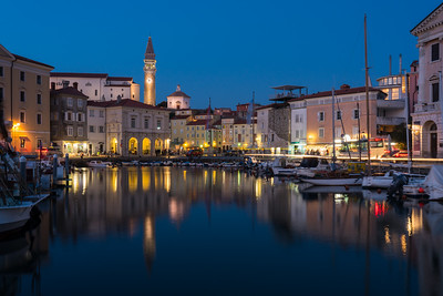 Twilight in Piran