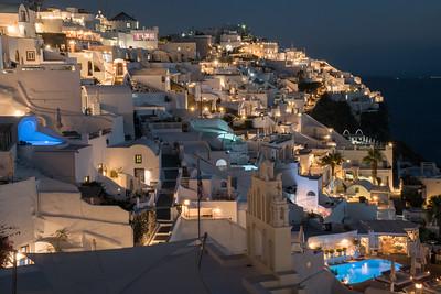 Magic Hour, Santorini, Greece.