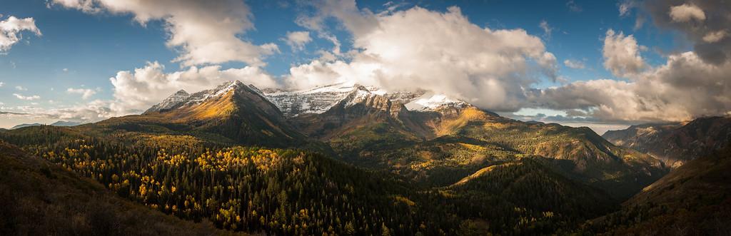 Autumn in the Wasatch - Mount Timpanogos