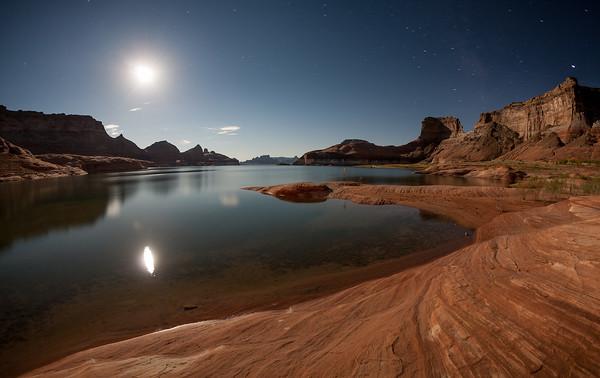Full Moon over Lake Powell