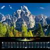 Settembre<br /> Jof Fuart 2666 m<br /> Jof di Montasio  2753 m (al centro)<br /> Alpi Giulie<br /> ITALIA