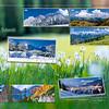 Retrocopertina del Calendario Alpi orientali e Dolomiti 2013