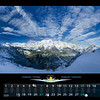 Febbraio<br /> Gruppo del Montasio visto dall' altopiano del Canin, nei pressi della Conca Prevala<br /> Alpi Giulie<br /> ITALIA