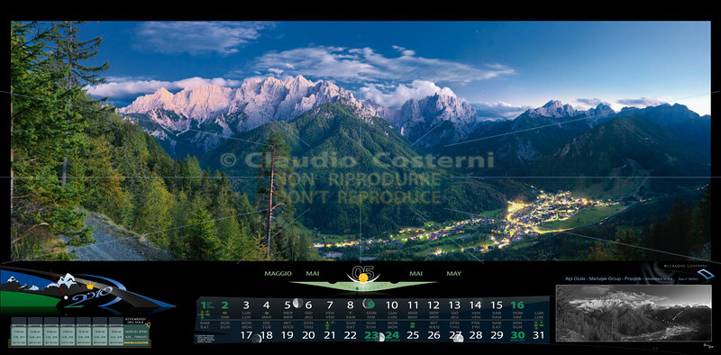 Maggio<br /> Martuljek Group - Prisojnik - KRANISKA GORA<br /> Alpi Giulie<br /> SLOVENIA