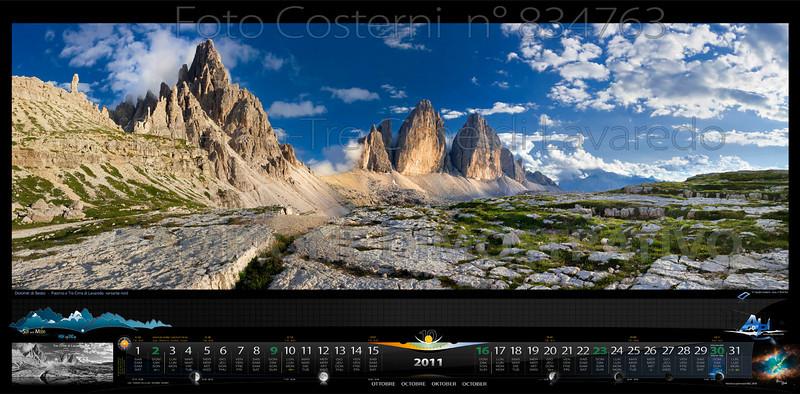 Ottobre: Dolomiti di Sesto<br /> Paterno-Tre Cime di Lavaredo