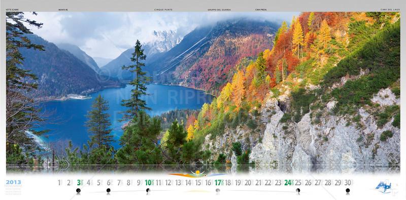 NOVEMBRE con Lago di Raibl / del Predil