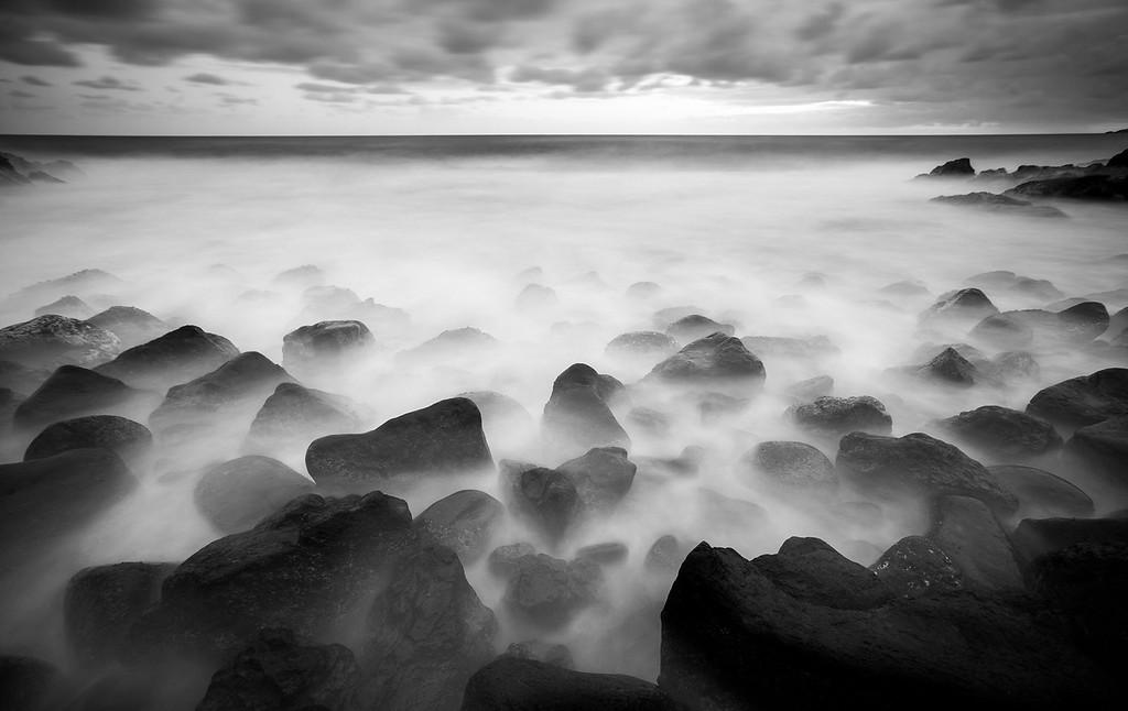 Lava Rock Ocean - Hawaii