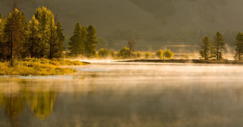 Autumn Mist - Teton National Park, WY