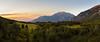 Sunset on Mount Timpanogos