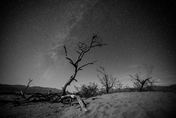 MILKY WAY, DEATH VALLEY