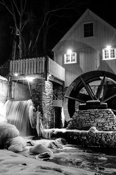 Icy Grist Mill