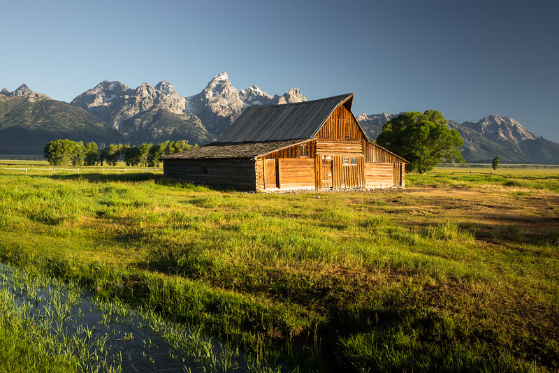Homestead in the Tetons