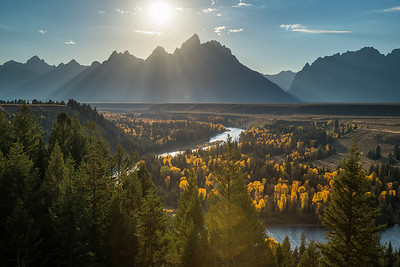 River Bend in the Tetons
