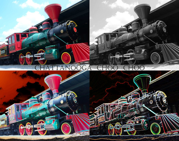 CHATTANOOGA CHOO CHOO COLLAGE