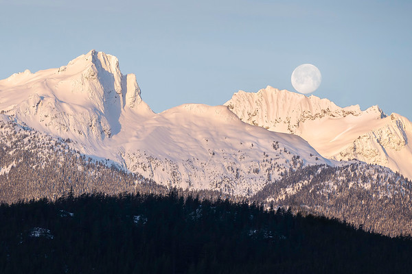 Zenith & Pelion Mountain, Tantalus Range, British Columbia, Canada