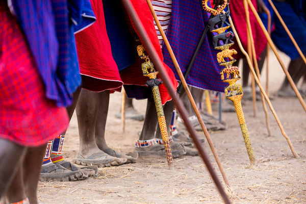 COLORS OF THE MAASAI, KENYA