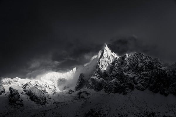 Les Drus, Chamonix Mont Blanc
