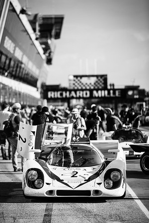 Ambiance at Le Mans Classic.