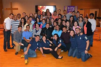 Grupo de Jovenes Hispanos AMEN - Spanish Young Adults - Alfonso Calvo