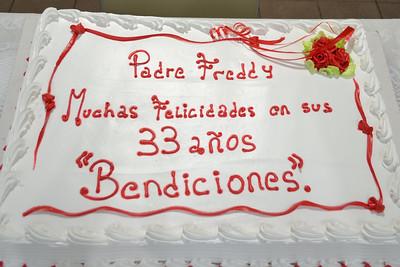 Cumpleanos Padre Fredy Yara - 11/17/2013 - Alfonso Calvo