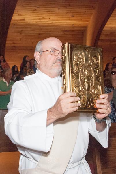 Father Daniel Martin's First Mass - 5/25/2013 - Nancy Kay Lyons