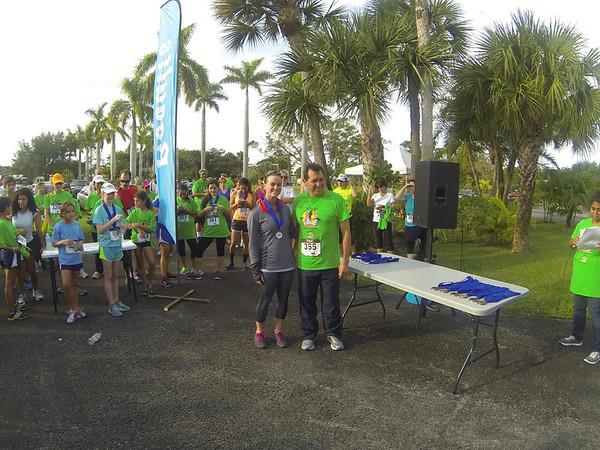 5 for 5 Jubilee 5K Run - The Finish - 10/26/2013 - Ivan Giraldez