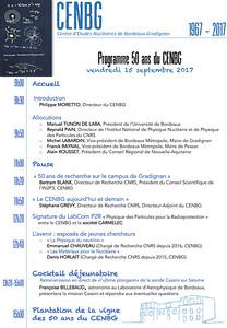 2017-09-15 Programme 50 ans du CENBG