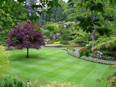 Buchart Gardens Victoria island -- PRIVATE