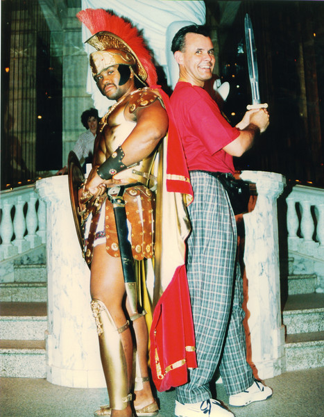 fighting the Romans Cesars Palace Las Vegas