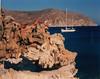 Myconos on the rocks. Greece
