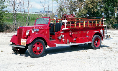 TRIBES HILL VFD  ANTIQUE    PRIVATE OWNER